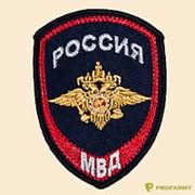 Шеврон МВД Внутренняя служба (орел) с липучкой фото