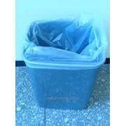 Пакеты для мусора белые,полупрозрачные,100 л,55*80*15 см. фото