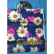 Пакеты с петлевой ручкой 38х42 серия Диор Daisies фото