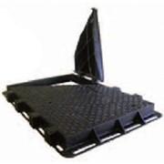 Чугунные для кабельных колодцев крышки D400 фото