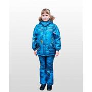 Комплект для девочки утепленный (куртка и брюки) зима Ч11311 фото