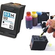 Заправка картриджа HP 122XL CH563HE (черный) фото