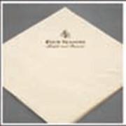 Салфетки с нанесением логотипа однослойные 33x33 см артикул 70006567 фото