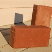 Плитка тротуарная прямоугольная П20.10.8 красная фото