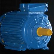 Электродвигатель со встроенным электромагнитным тормозом АИР 160 S4Е мощность, кВт 15 1500 об/мин фото