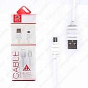 USB Кабель BYZ BL-671 Micro USB White (Белый) фото