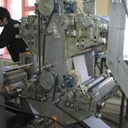 Линии для производства бумажных салфеток с тиснением Ниагара 4 цвета фото