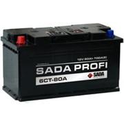 Аккумуляторы 6СТ- 80А серии SADA PROFI, пр-во Сада (SADA) фото
