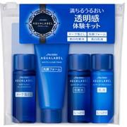 Набор мини Shiseido Aqua Label Отбеливание фото