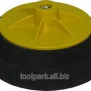 Круг полировальный фетровый 125 мм с липучкой ф39643 фото