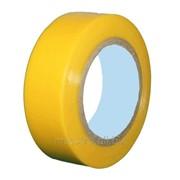 Лента изоляционная 20*19 желтая Артикул 32.8884 фото