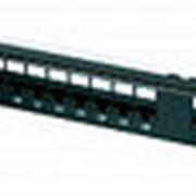 """EC-URP-24-UD2 Коммутационная панель NETLAN 19"""", 1U, 24 порта фото"""