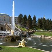 Установка Садовых фонтанов, источников, водопадов из камня фото