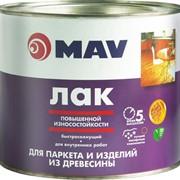 Лак для паркета и изделий из древесины (алкидно-уретановый АУ-2122) фото