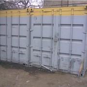Выкуп контейнеров и бытовок БУ фото