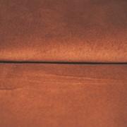 Кожа Свиная Замша терракотовая фото