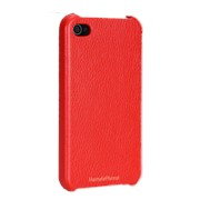 Крышка Icarer для iPhone 4, красная фото