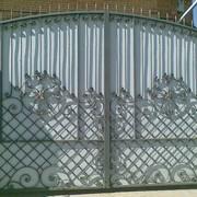 Ворота кованные мод 03 фото