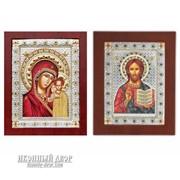 Спаситель И Казанская Богородица - Пара Венчальных Икон Код товара: ОEKBXAG9 фото