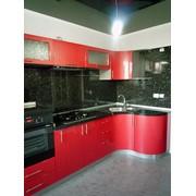 Кухня под заказ. Фасады-крашеный МДФ фото