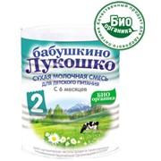 Сухая молочная смесь для детей с 6 месяцев фото