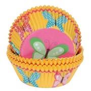 Набор бумажных форм для кексов: Вечеринка в саду, 75 шт