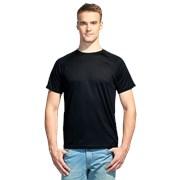 Мужская спортивная футболка StanPrint 30 Чёрный 12 лет фото