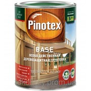 PINOTEX BASE 1 л Бесцветная деревозащитная грунтовка глубокого проникновения на основе алкидных смол фото