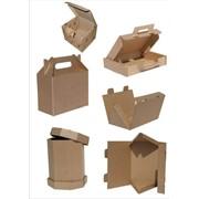 Изготовление и дизайн картонных коробок фото