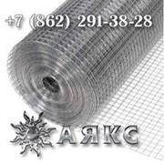 Сетка металлическая 25.4х12.7х1.8 стальная из оцинкованной проволоки оцинковка проволочная фото