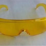 Очки защитные прозрачные типа Озон (жёлтые) фото