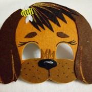 Маскарадные маски собак фото