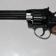Револьвер под патрон Флобера РФ-461м с буковой рукояткой фото