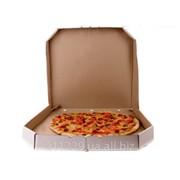 Коробка под пиццу диаметром 30 см фото