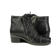 Женские ботинки кожаные фото