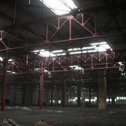 Окрашенные металлические фермы. Завод АЗЛК г. Москва фото