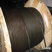 Канат стальной 7,6 мм ГОСТ 3063 ТК 1х19 (1+6+12) фото