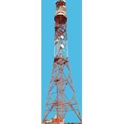 Покраска высотных сооружений различной сложности фото