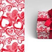 """Упаковочная бумага Миленд """"Акварельная любовь"""", 10 листов, 70 х 100 см., 90 г/м2, 10-05-0043 фото"""
