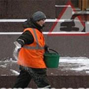 Соль для посыпания улиц, дорог, площадей и тротуаров Антилед фото