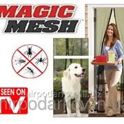 Антимоскитная сетка штора на магнитах Magic Mesh 422 фото