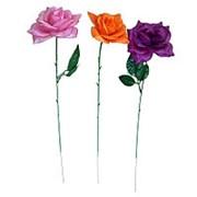 Искусственная роза 45см 009-261 фото