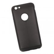 Защитная крышка «LP» для iPhone 6/6s «Сетка» Soft Touch (черная) европакет фото