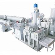 Линии для производства полиэтиленовых напорных труб РЕ75-160 фото