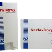 Лекарство от гепатита С. Производство Египет. Софосбувир 400+Даклатасфир 60 фото