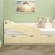 Детская кровать Бабочки 1,6м фото