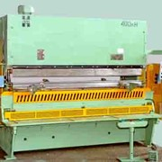 Пресс комбинированный гидравлический для резки и гибки листового материала, модель ИНП 4.40 фото