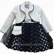 Комплект для девочки платье и болеро Blanka фото