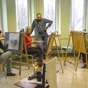 Класс рисунка и живописи для подростков с 14 лет и взрослых. фото