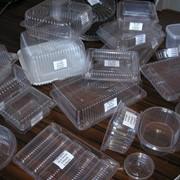 Пищевые пластиковые контейнеры фото